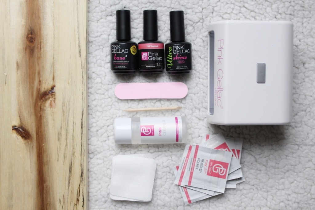 Pink Gellac Starter Set