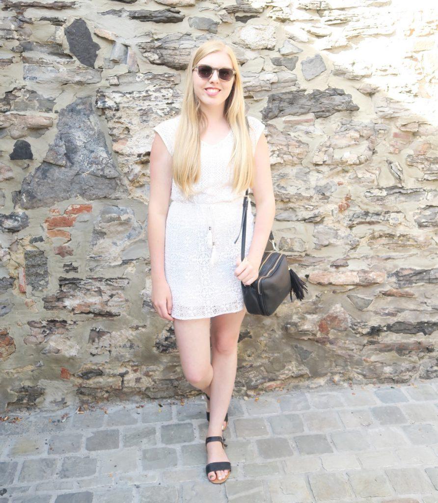 Outfit met nieuwe polette zonnebril