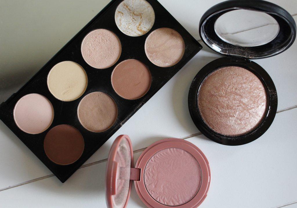 Mijn favoriete bronzer, blush en highlighter combinatie