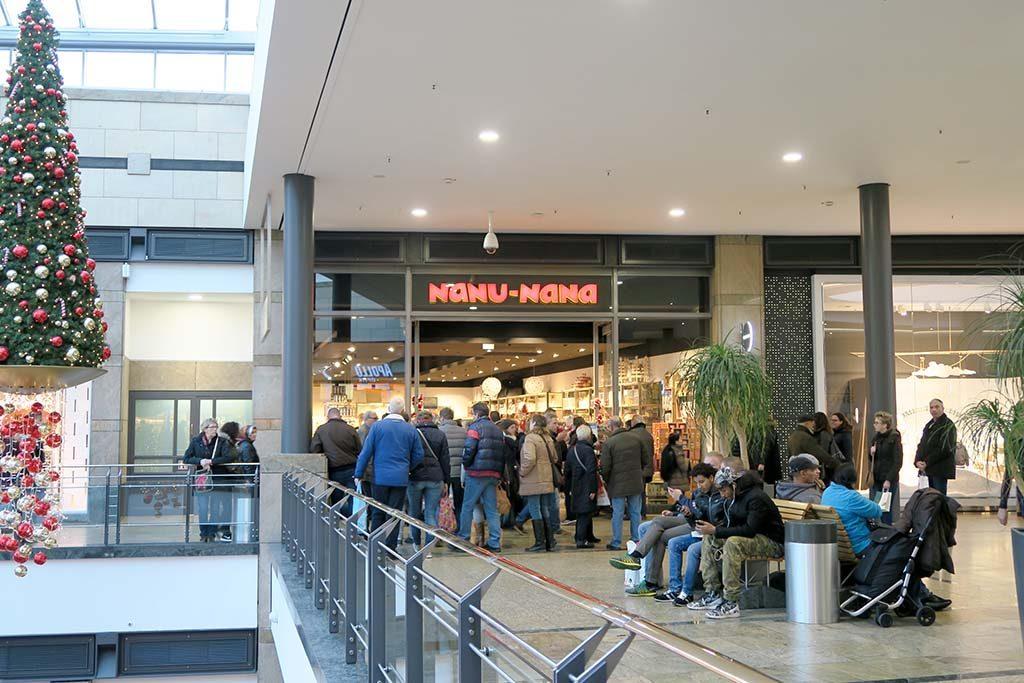Oberhausen CentrO + kerstmarkt
