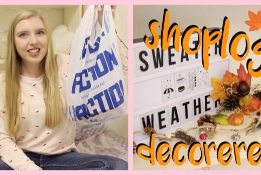 action herfst shoplog