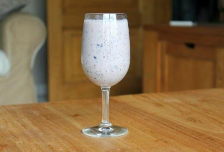 blauwe bessen smoothie gezond