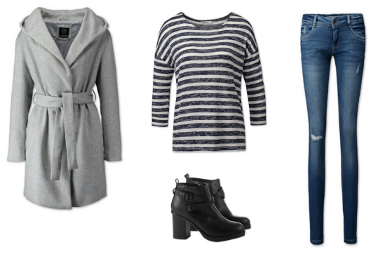 Warme winter outfit