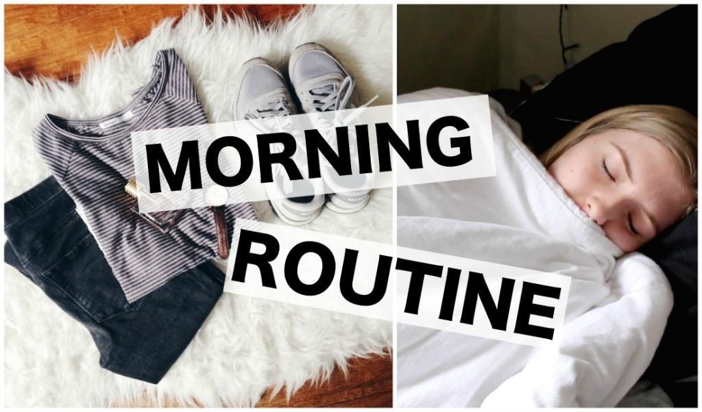 Ochtend routine
