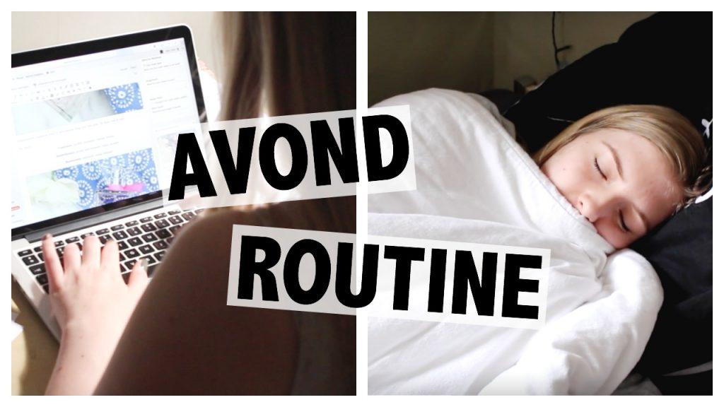Avond Routine 2016