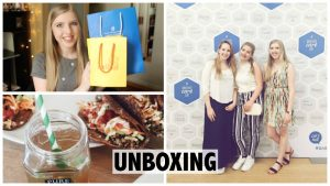 Unboxing goodiebag