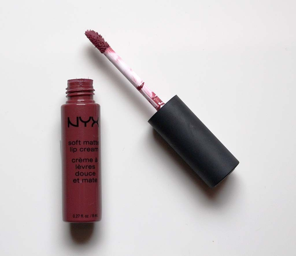 nyx soft matte lip cream rome