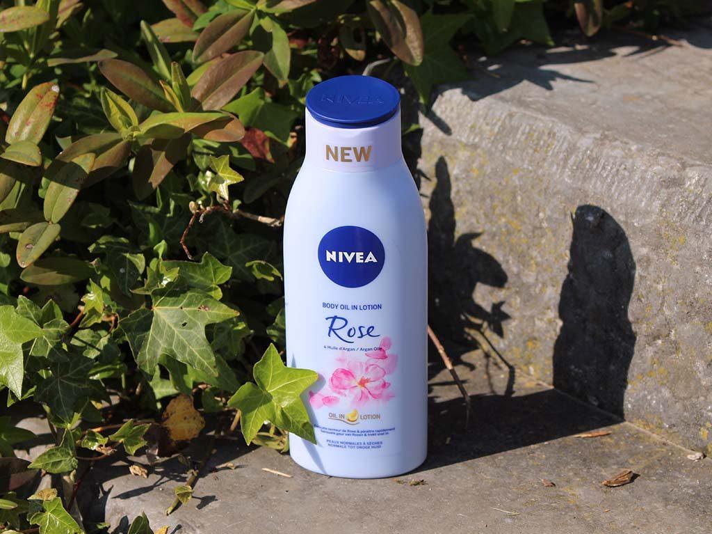 Nivea body oil in lotion
