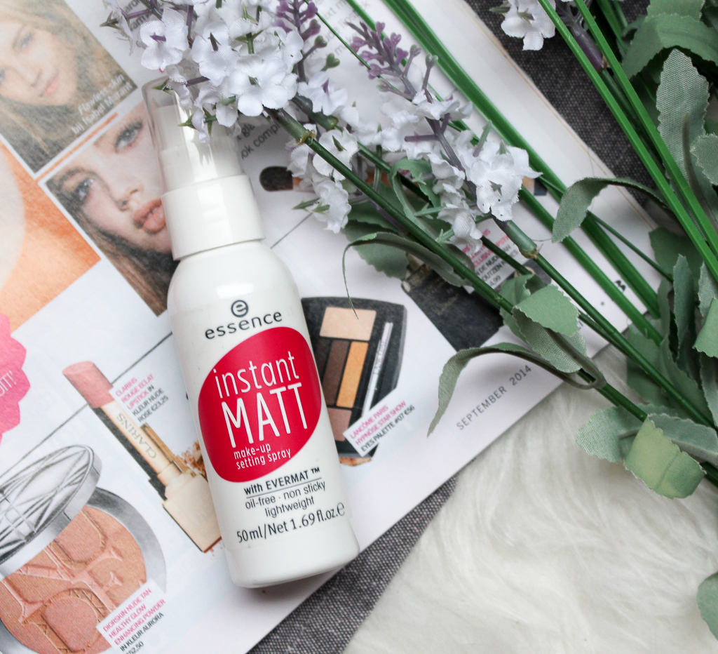 Essence instant matt make-up setting spray review
