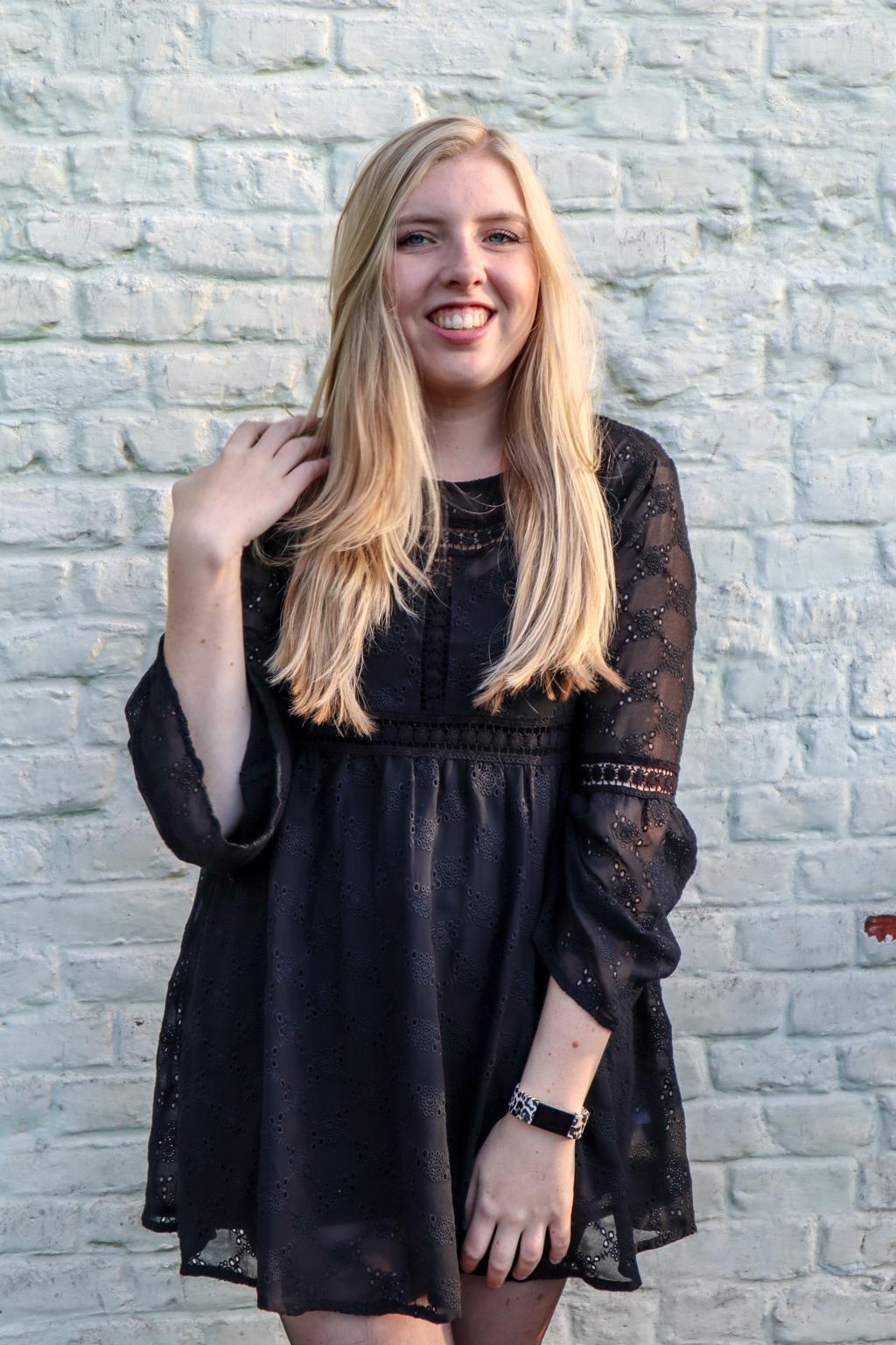 Zwart jurkje Bik Bok