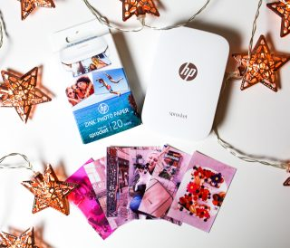 HP sprocket fotoprinter