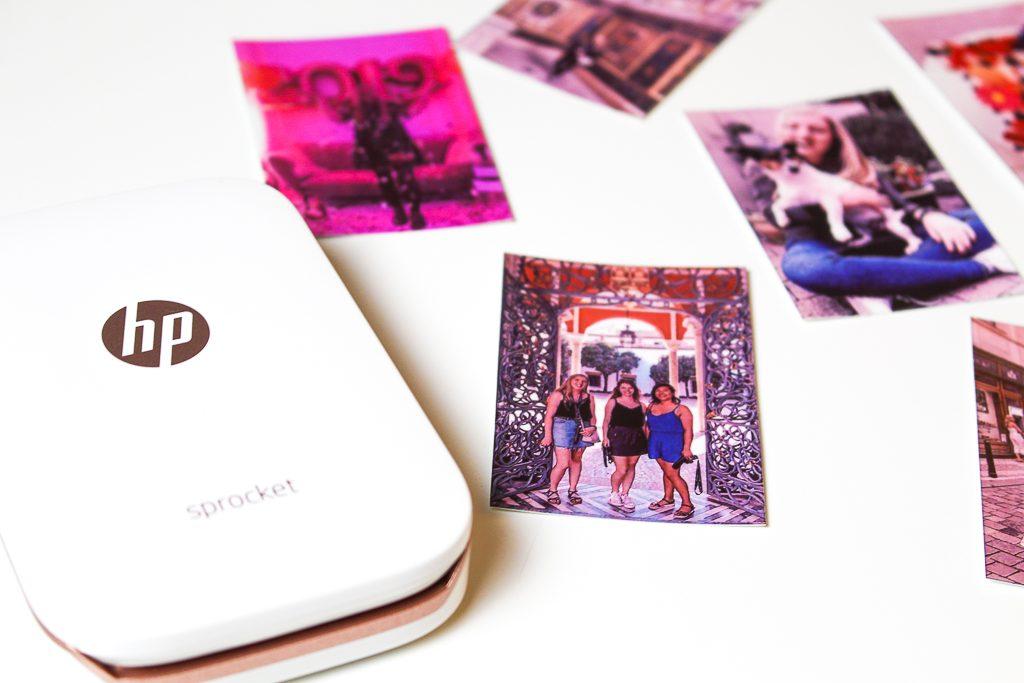 HP sprocket fotoprinter