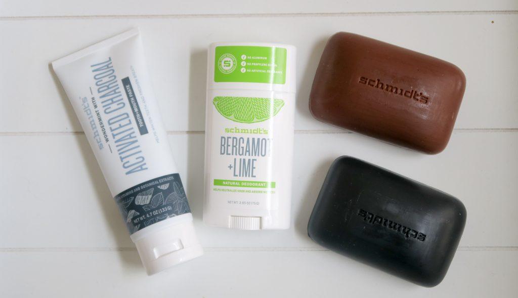 Schmidt's deo, tandpasta en zeep review