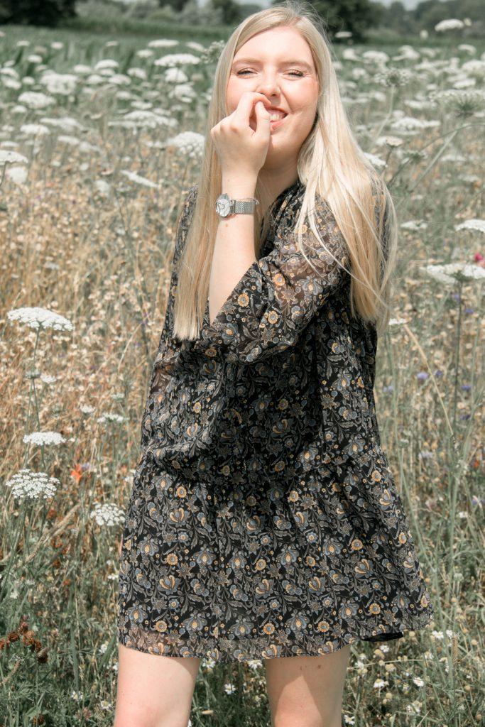 Bloemen jurkje
