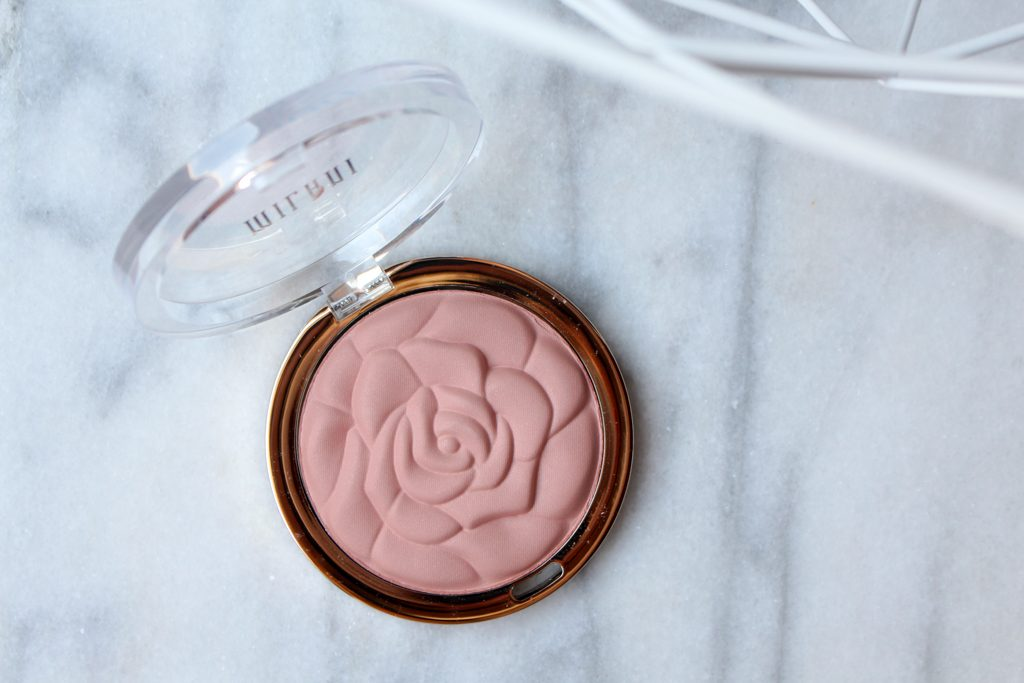 Milani Powder Blush Romantic Rose review