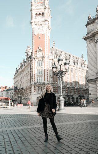 Outfit in het historisch centrum van Lille