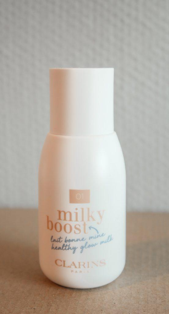 Clarins milky boost foundation