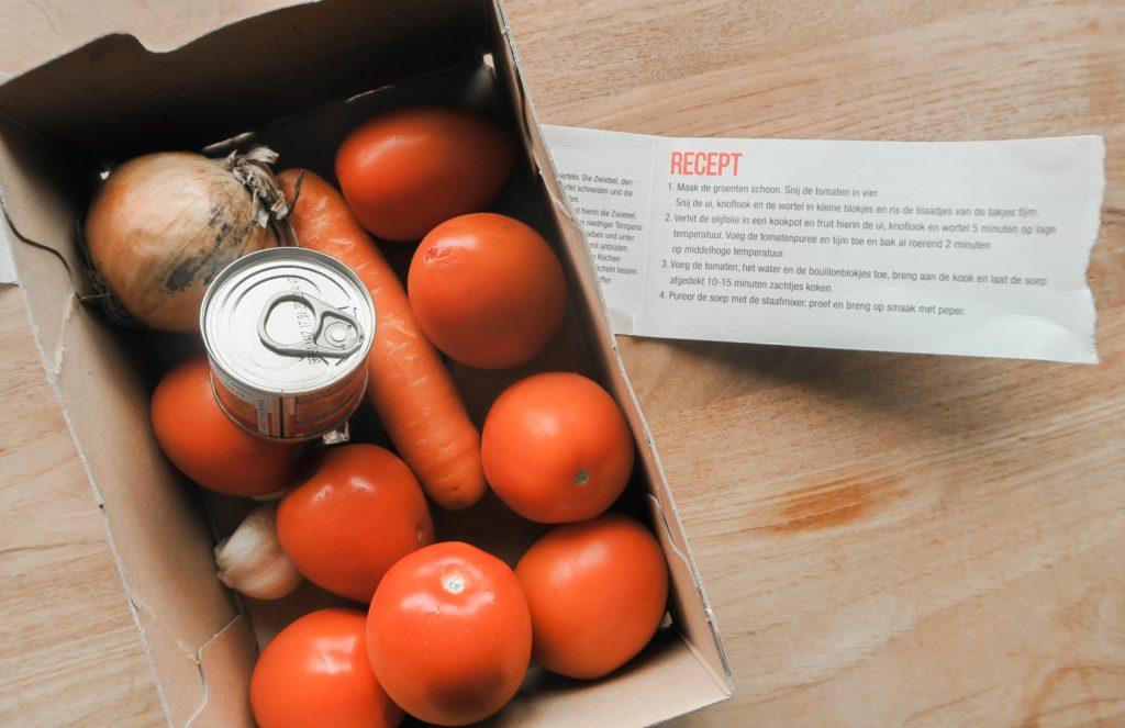 Delhaize maaltijdbox testen